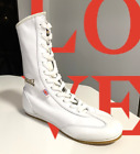 NEW  Lonsdale Boxing Boots Women s Color White Leather. Sizes 5, 6, 7, U.S.