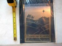Dreamweaver Metal Stencils Peace On Earth Lynell Harlow Embossing Stenciling New