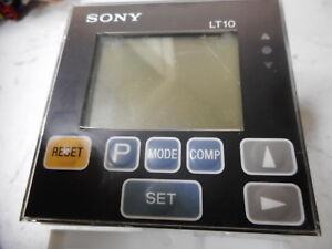 SONY DIGITAL PANEL DISPLAY -- 5 DIGIT BACKLIT LCD - 1 CHANNEL INPUT -- LT10-105B