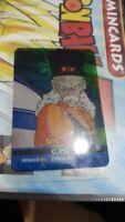 dragon ball lamincards edibas italia serie oro n 124