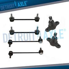 2009 2010 2011 2012 Hyundai Elantra for Front & Rear Sway Bars Ball Joints Kit