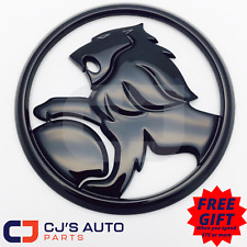 Holden Gloss Black Lion Badge Commodore Grille VE SV6 SS SSV Calais Berlina
