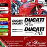 Serie Adesivi Stickers compatibili DUCATI 748 R Superbike