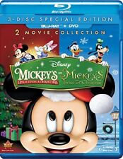 Disney's Mickeys Once & Twice Upon a Christmas (Blu-ray Disc, 2014)