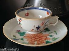 Belle Tasse et soucoupe en porcelaine Compagnie des Indes Chine Art d'asie