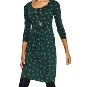 Boden Chatsworth Green Trinket Mabel Dress Size 10 New With Tags
