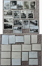 WORLD WAR II 1940S ARMY ARCHIVES LOT OF 42 ORIGINAL PHOTOS