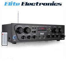 Pyle Bluetooth 4 Channel Amplifier Wireless Karaoke Receiver