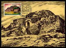 SPAIN MK 1973 HISPANIDAD NICARAGUA RIO SAN JUAN BURG MAXIMUMKARTE MC CM df53