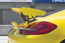 PORSCHE CAYMAN 981 GT4 STYLE REAR SPOILER WING PAINTABLE ABS PLASTIC Z3492