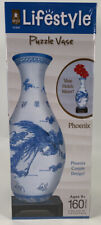 BePuzzled Lifestyle 3D Puzzle Vase Phoenix 160 Pieces Age 8+ Holds Water New