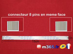 Flat 8 Pin Cavo Collegare Laptop Universale 15cm Larghezza 0.9cm / Ref :0 24