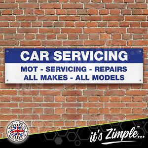 CAR MOT SERVICING Garage Workshop Banner PVC Sign Display Motorsport