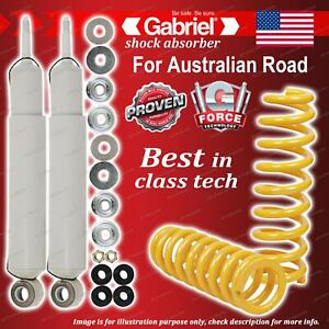 Rear Gabriel Ultra LT Shocks + King Springs for Land Rover Discovery Series 1 V8
