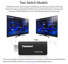 Tronsmart Linux TV WiFi Display  Dongle AM8252 1080P HDMI Miracast DLNA Airplay
