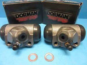 2 Drum Brake Wheel Cylinder Front Left & Right Dorman W14493 Pair