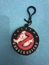 Ghostbusters Rubber Key Chain Clip Coin Pouch Vintage Rare