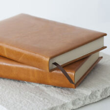 Tan Journal, Leather Journal, Caramel Leather Journal, Approx A5 (42C3)