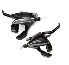 SHIMANO ST-EF65 3×8 Speed MTB Bike Bicycle Shifter&Brake Set Lever Black w/cable