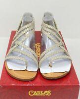 Carlos by Carlo Santana - Amara 2, Canapa Gold Sandals