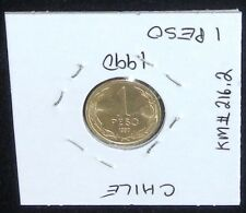 Beautiful 1990 Chile 1 Peso Coin (Uncirculated)