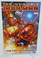 Invincible Iron Man Vol 1 The Five Nightmares Marvel Comics TPB Paperback New