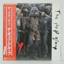 THE POP GROUP - Y LP 1979 JAPAN P-10705F Slits P.I.L. CLASH SPECIALS DUB SKA