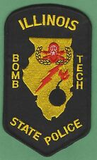 ILLINOIS STATE POLICE BOMB SQUAD PATCH