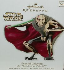 Hallmark Ornament Xmas Tree Star Wars General Grievous Revenge of the Sith movie
