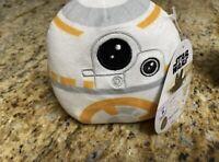 """Squishmallow Star Wars Plush 5"""" Mini BB-8 New"""