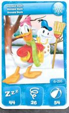 Carte Mickey Mouse & Friends - n° 6 - Donald Duck - Hivers - 2012