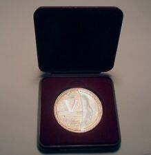 NETHERLANDS SOLDAAT VAN ORANJE 2011 Medal UNC Silver Proof 40mm 20g in Box B5