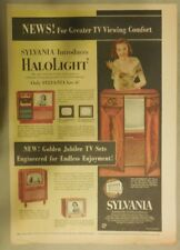 "Sylvania TV Ad: Sylvania Introduces ""Halolight""  Best Television from 1951"