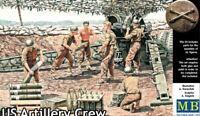 Master Box 3577 - 1/35 - WWII US Artillery Crew Plastic Model Kit For Kids