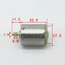 DC 12 V ~ 24 V 10000 Rpm OT-RK-365SA Mini Cepillo de Carbono Motor Engranaje De Cobre 10 T Hágalo usted mismo Juguete