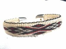 Hitched horse hair horsehair bracelet Red & Black colored design