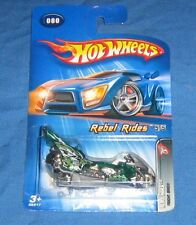 "Hot Wheels Diecast Motorcycle 2005 Rebel Rides, ""Fright Bike"" 5/5"