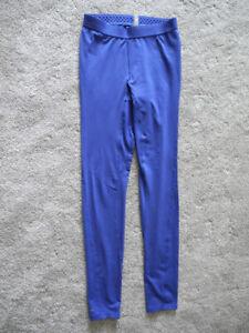 NWOT Womens Columbia Sportswear Blue Omni Heat Base Layer Pants Extra Small XS