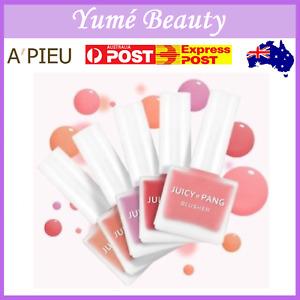 A'pieu Juicy Pang Water Blusher 9g Liquid Blush Cheek #CR02 PK02 PK03 RD01 VL03