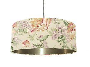 *6 Brushed linings* Laura Ashley Sherbourne fabric Lampshade