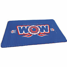 WOW Watersports Water Walkway Inflatable Mat - 6ft. x 10ft Blue