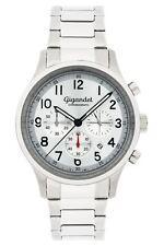 Uhr Armbanduhr Herrenuhr Chronograph Gigandet G50-001 Silber Datum Metallband