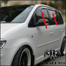 Set 4 Deflettori Aria Antiturbo Oscurati VW Touran 2003-2015 Volkswagen cross