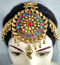 Tribal Kuchi Gypsy Tikka Head Piece Belly Dance Fashion Jewelry Damni TIARA Boho