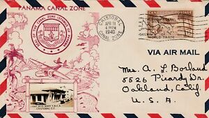 Canal Zone to US CRISTOBAL15c 25th Year Army Navy Club Real Photo Cachet 1940