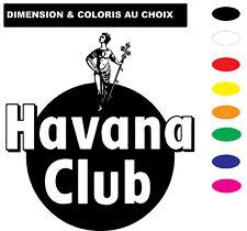 Sticker HAVANA CLUB Autocollant Adhesif Véhicule Moto Biker Deco