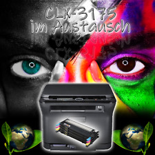 SAMSUNG Farblaserdrucker CLX-3175 inkl. neue Toner im Austausch