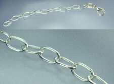 925 Silber Ketten verlängerung bis 8 cm beliebige Länge NEU Ovale