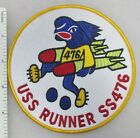 US NAVY USS RUNNER SS-476 SUBMARINE PATCH Made for Veterans After WW2