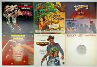 Mixed Lot of 6 Vintage Motion Picture Movie Soundtrack Vinyl Records: ET Sinbad